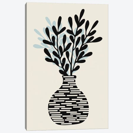 Still Life With Vase And Tree Branches Canvas Print #ALG82} by Alisa Galitsyna Canvas Art