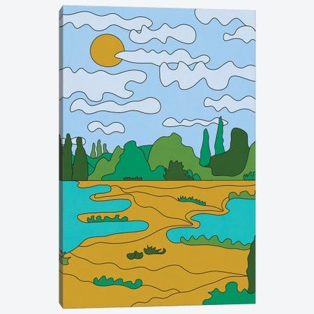 Sunny Day Canvas Print #ALG86} by Alisa Galitsyna Canvas Art Print