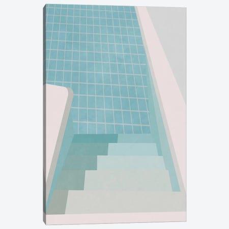 Swimming Pool Summer I Canvas Print #ALG89} by Alisa Galitsyna Canvas Art