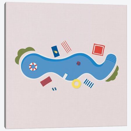 The Swimming Pool Season Canvas Print #ALG92} by Alisa Galitsyna Canvas Art Print