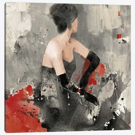 Beautiful Gaze I Neutral Canvas Print #ALH12} by Albena Hristova Canvas Art