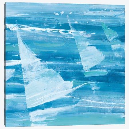 Summer Sail II Blue Canvas Print #ALH20} by Albena Hristova Canvas Art Print