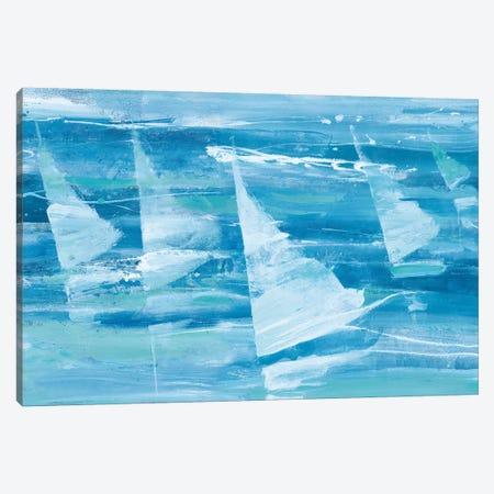 Summer Sail III Blue Canvas Print #ALH21} by Albena Hristova Canvas Art Print