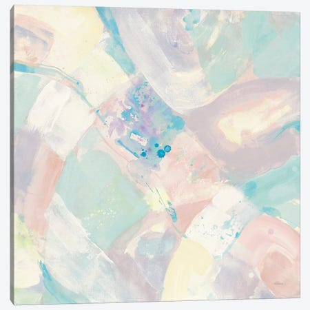 White Rock I Pastel Canvas Print #ALH22} by Albena Hristova Art Print