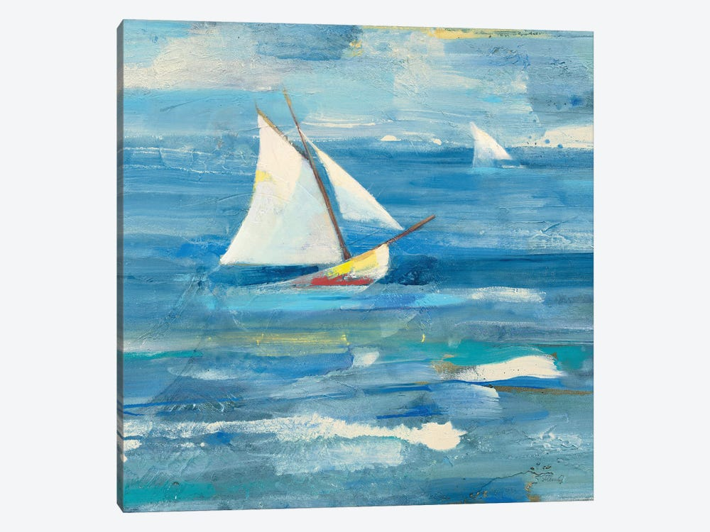 Ocean Sail Light by Albena Hristova 1-piece Canvas Art