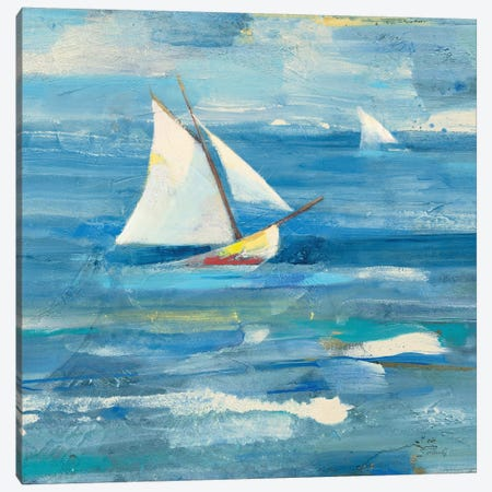 Ocean Sail Light Canvas Print #ALH26} by Albena Hristova Canvas Wall Art