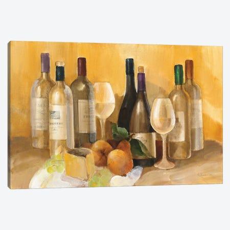 Wine and Fruit II v2 3-Piece Canvas #ALH36} by Albena Hristova Canvas Print