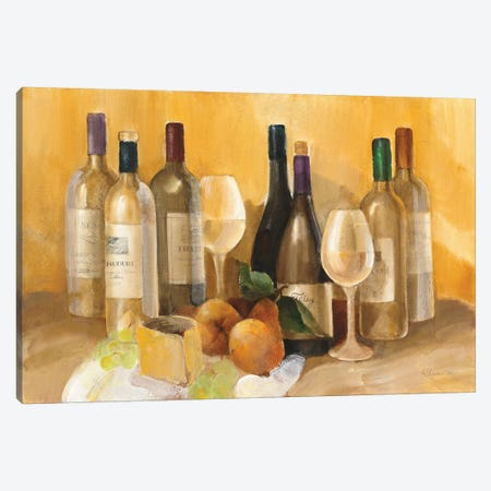 Wine and Fruit II v2 Canvas Print #ALH36} by Albena Hristova Canvas Print