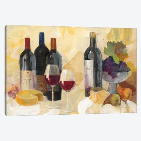 Fine Vintage Reds Canvas Print #ALH38} by Albena Hristova Canvas Artwork