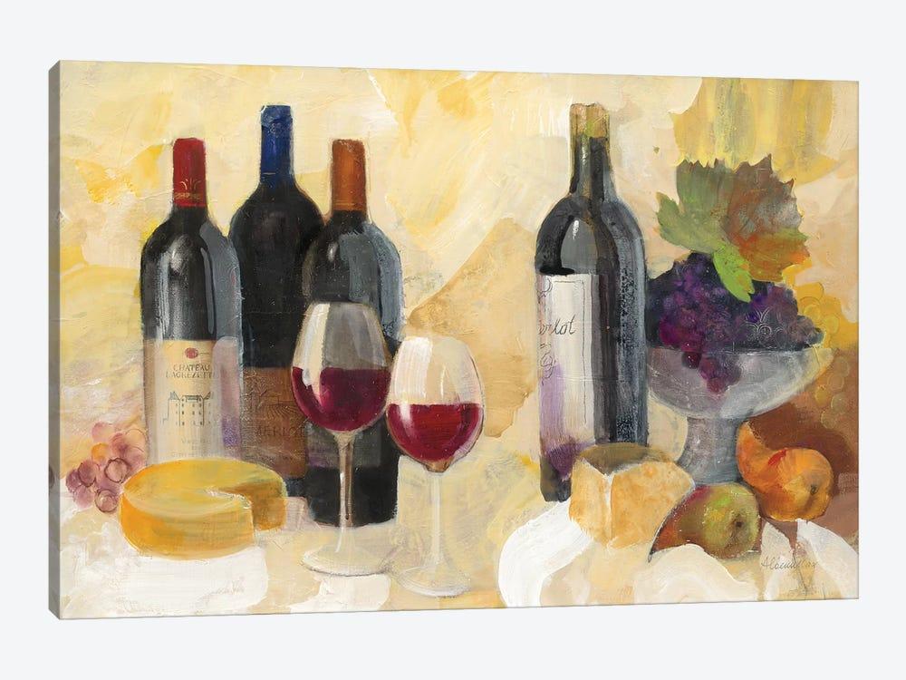 Fine Vintage Reds by Albena Hristova 1-piece Canvas Print