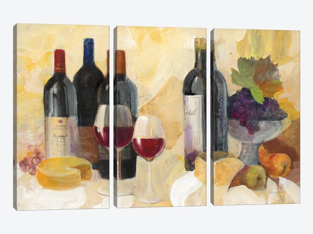 Fine Vintage Reds by Albena Hristova 3-piece Art Print