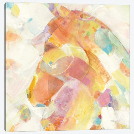 Kaleidoscope Horse II Canvas Print #ALH41} by Albena Hristova Canvas Print