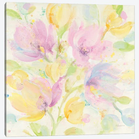 Its Spring Canvas Print #ALH47} by Albena Hristova Canvas Art