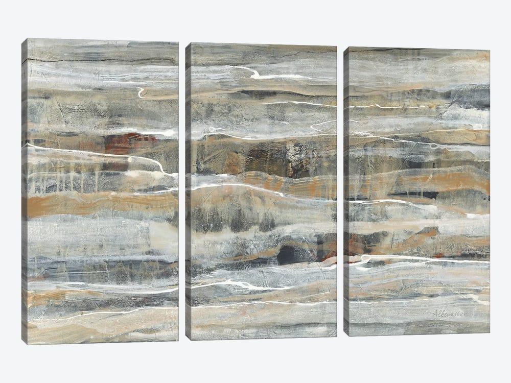 Spring Stream by Albena Hristova 3-piece Canvas Artwork