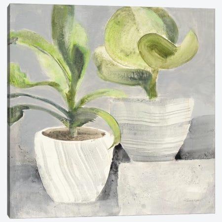 Greenery Still Life Canvas Print #ALH51} by Albena Hristova Canvas Wall Art