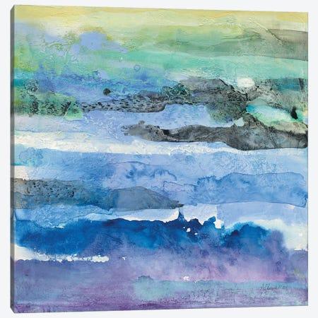 Abstract Layers I Canvas Print #ALH53} by Albena Hristova Canvas Artwork