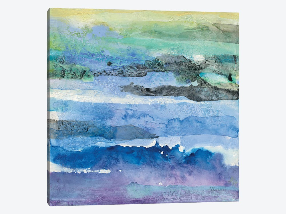 Abstract Layers I by Albena Hristova 1-piece Canvas Art