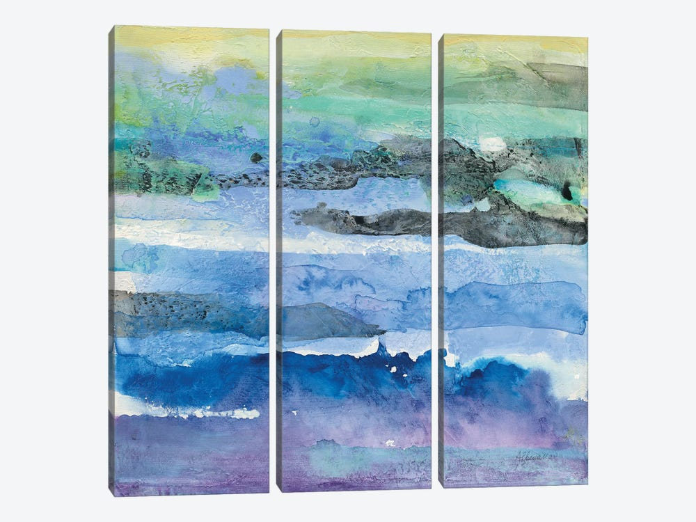 Abstract Layers I by Albena Hristova 3-piece Canvas Art