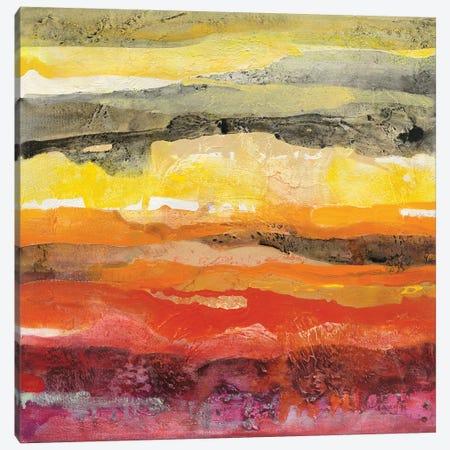 Abstract Layers II Canvas Print #ALH54} by Albena Hristova Canvas Print