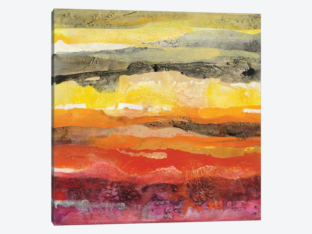 Abstract Layers II by Albena Hristova 1-piece Canvas Art Print