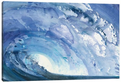 Barrel Wave Canvas Art Print