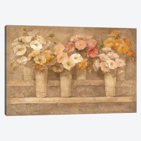Flower Market Canvas Print #ALH5} by Albena Hristova Canvas Art Print