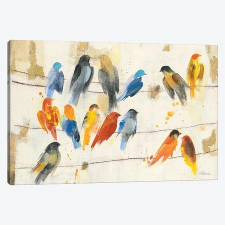 Town Meeting Canvas Print #ALH6} by Albena Hristova Canvas Print
