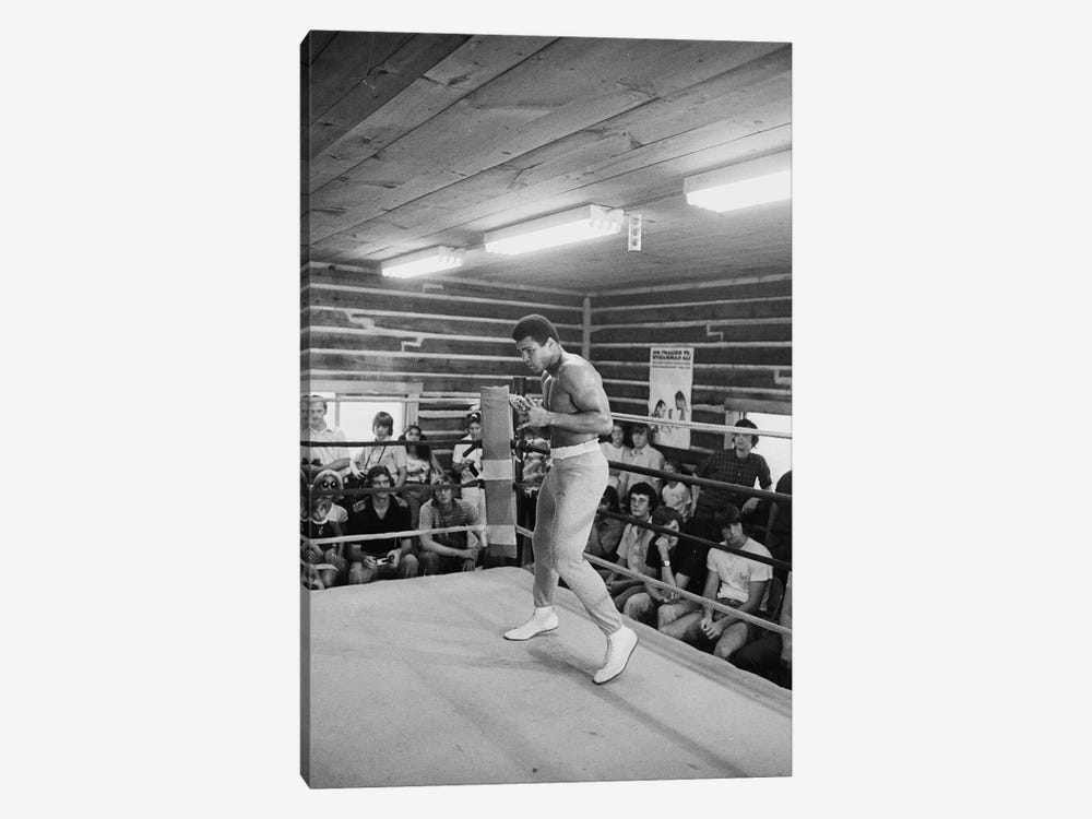 In-Ring Movement At Deer Lake III (Rumble In The Jungle™ Training Camp) by Muhammad Ali Enterprises 1-piece Canvas Artwork