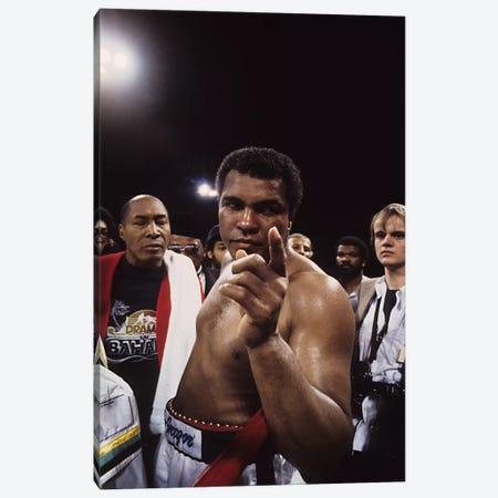 Post-Fight #1 Gesture, Drama In Bahama Canvas Print #ALI63} by Muhammad Ali Enterprises Canvas Art
