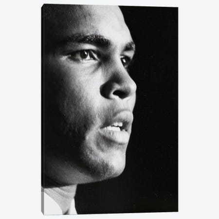 Profile Shot Of Muhammad Ali Canvas Print #ALI72} by Muhammad Ali Enterprises Canvas Art Print