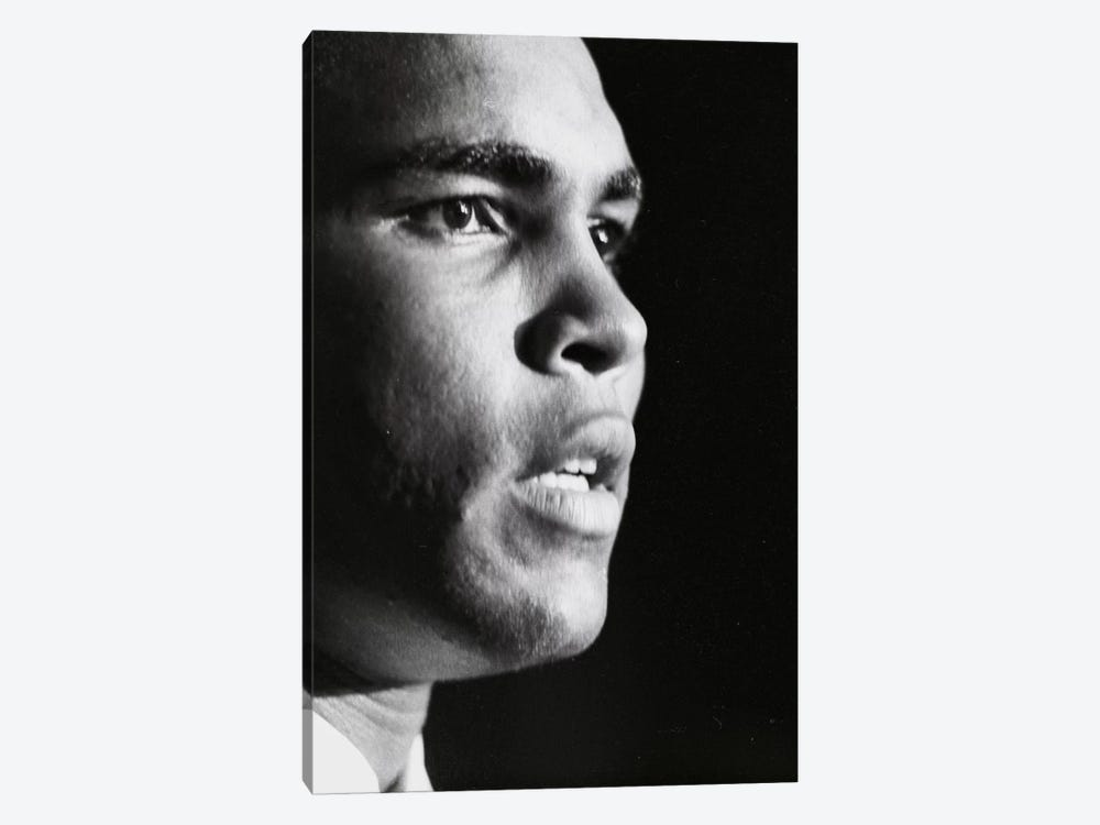 Profile Shot Of Muhammad Ali by Muhammad Ali Enterprises 1-piece Canvas Wall Art