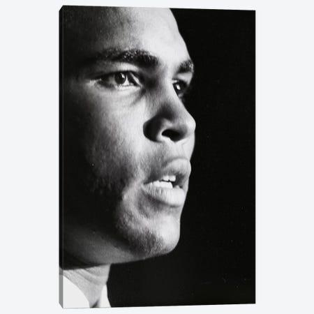 Profile Shot Of Muhammad Ali Canvas Print #ALI72} by Muhammad Ali Enterprises Canvas Art Print