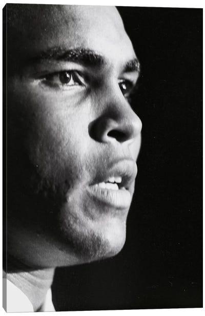 Profile Shot Of Muhammad Ali Canvas Art Print