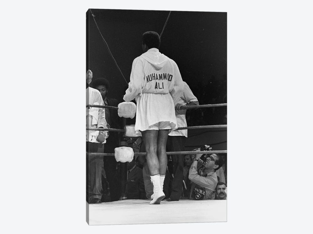 Rear View Of A Robed Muhammad Ali by Muhammad Ali Enterprises 1-piece Canvas Wall Art