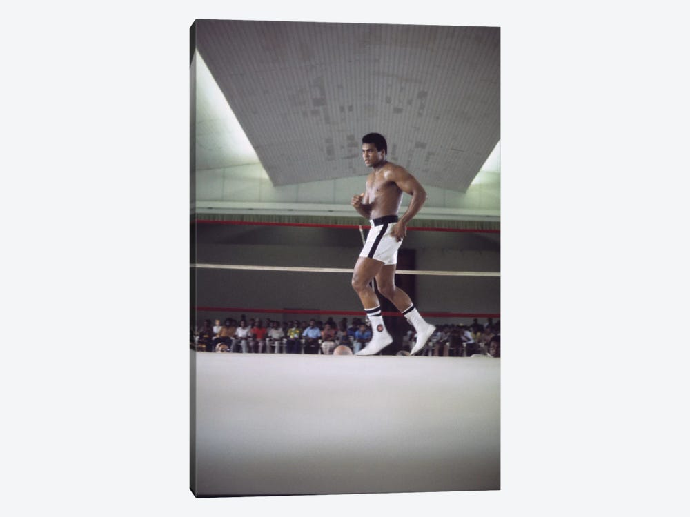 Rumble In The Jungle™ Footwork Training by Muhammad Ali Enterprises 1-piece Canvas Art