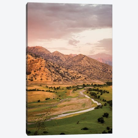 USA California. Tulare County, Slick Rock Recreation Area. Canvas Print #ALJ1} by Alison Jones Canvas Wall Art