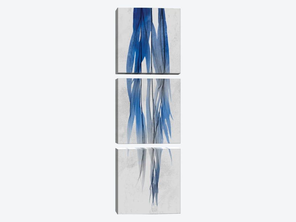 Indigo Growth I by Albert Koetsier 3-piece Canvas Artwork