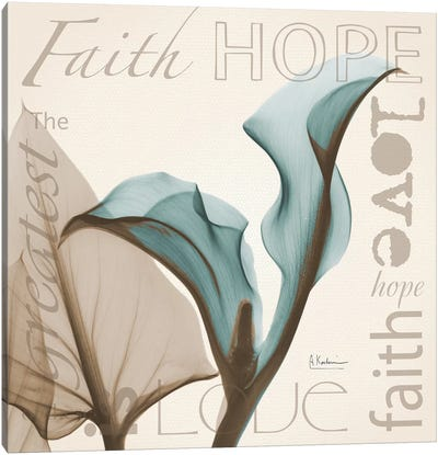 Calla Faith Canvas Art Print