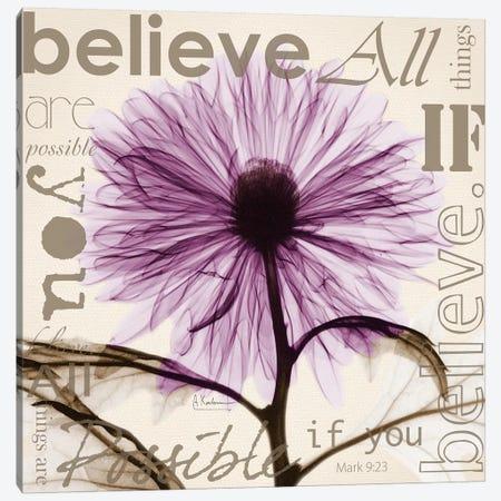 Chrysanthemum Believe Canvas Print #ALK213} by Albert Koetsier Art Print