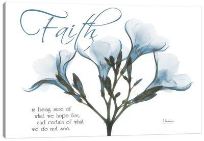Faith Oleander Canvas Art Print