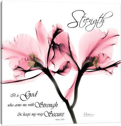 Orchid Strength Canvas Art Print