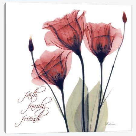 Red Tulip Faith Canvas Print #ALK240} by Albert Koetsier Canvas Wall Art