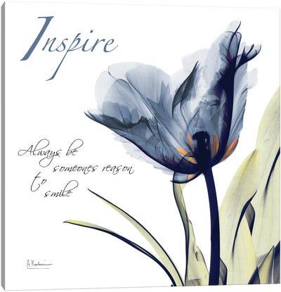 Tulip Inspire Canvas Art Print
