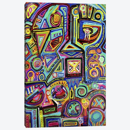 Machine Against the Rage Canvas Print #ALM10} by Alloyius McIlwaine Canvas Print