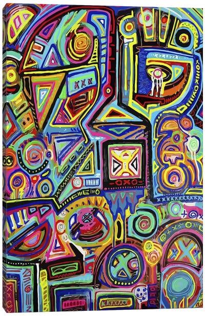 Machine Against the Rage Canvas Art Print