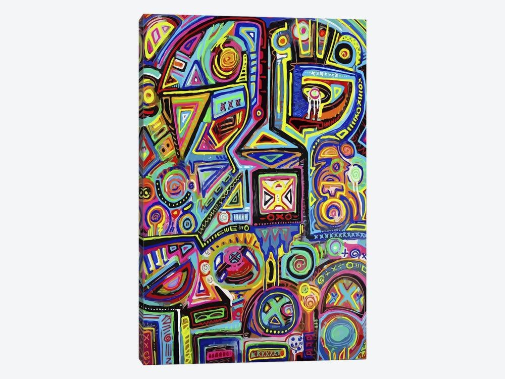 Machine Against the Rage by Alloyius McIlwaine 1-piece Canvas Art Print