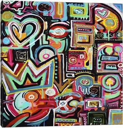 Magnetic Fields Canvas Art Print