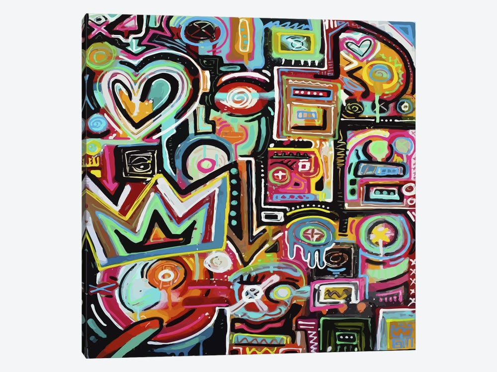Magnetic Fields by Alloyius McIlwaine 1-piece Canvas Wall Art