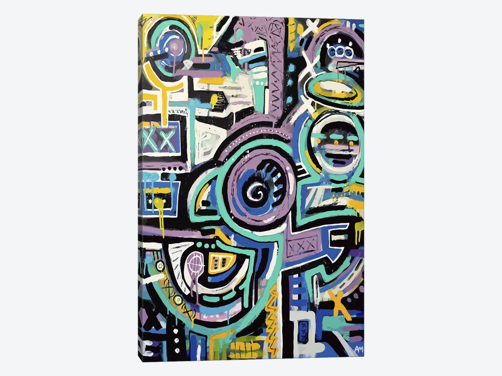Totem 2025 by Alloyius McIlwaine 1-piece Canvas Artwork