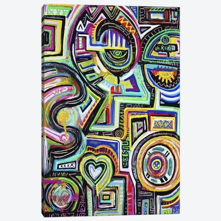 Celestial Engine Canvas Print #ALM4} by Alloyius McIlwaine Canvas Wall Art